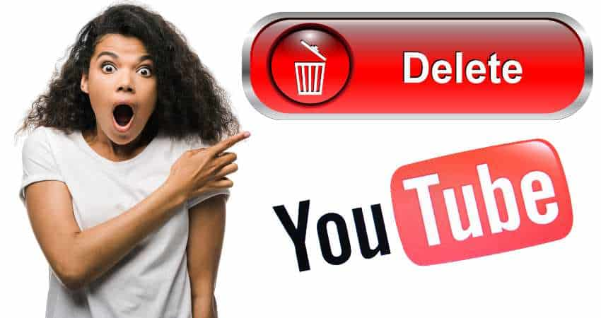 Woman shocked your deleting YouTube channel